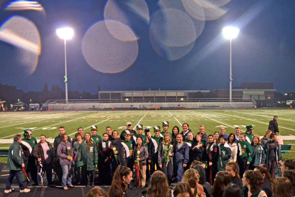 2017 Marching Band Senior Night
