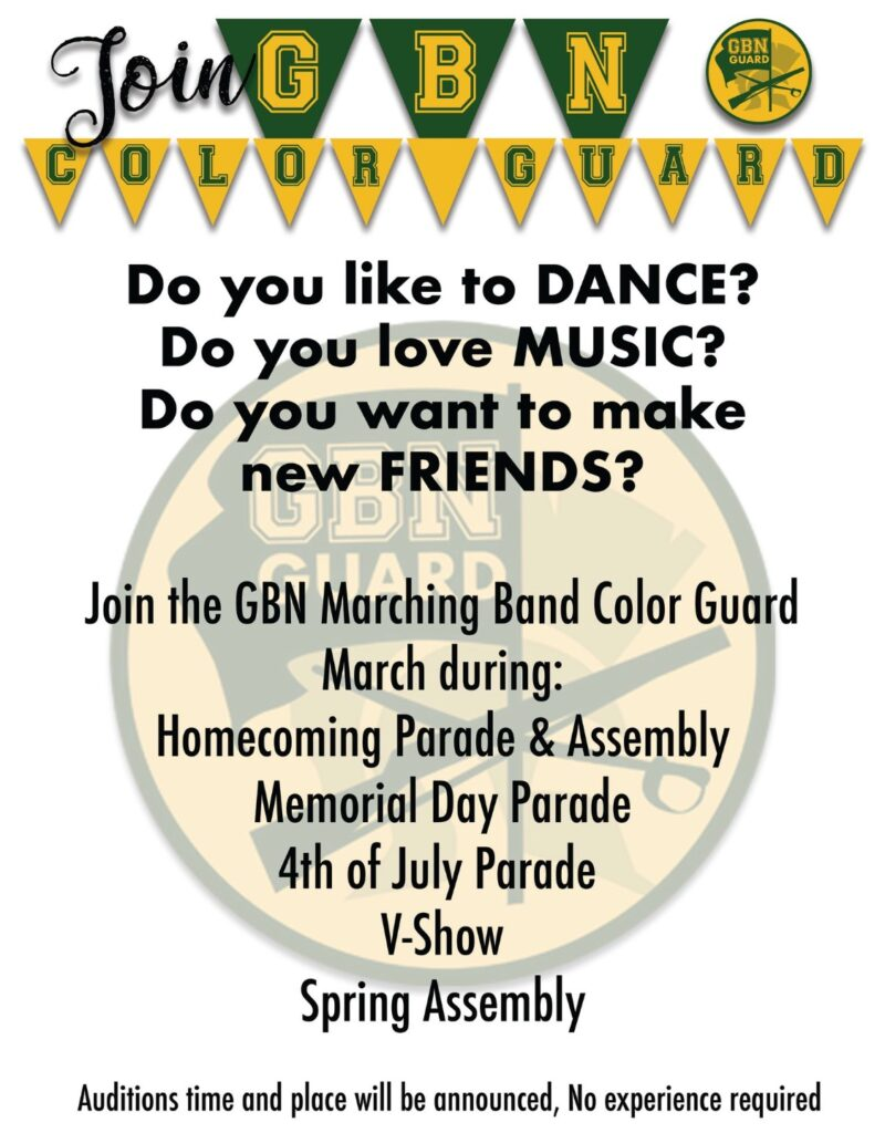 GBN Color Guard 2021